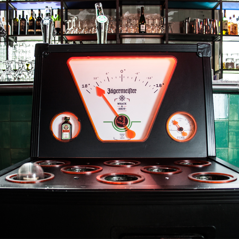 jagermeister whack-a-shot